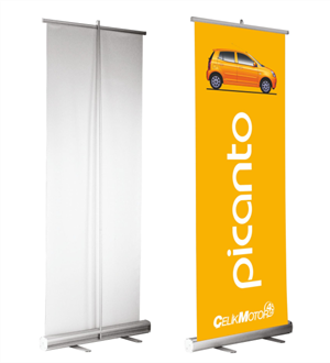 Roll Up Banner ve X Banner